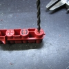 """Back drilled out with 5/32"""" bit and pin vise."""