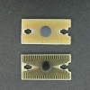 Top: main chip from the 3020. Bottom: main chip from a Wavetek HD100 parts donor.