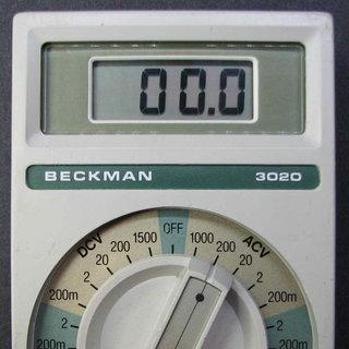 B3020_S00_introBeckman 3020 DMM