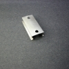 It is important that the new clip sit flat so that it will exert even pressure all along both edges.