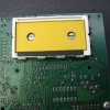 It is important that this LCD frame remain centered and straight so that the LCD connections will align with the pads on the PCB. Leave the LCD out while working so that it will not get broken.