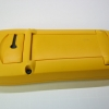 The rubbery yellow over-mold on Fluke handhelds can get quite grimy, but they do clean up well.