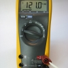 Mains voltage measurement.