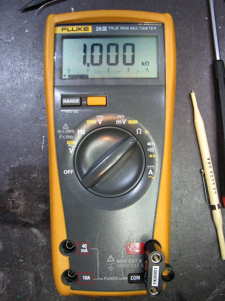 Fluke Meter Calibration : Fluke iii corrosion repair mr modemhead