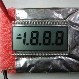50Hz 5Vp-p bi-polar square wave applied to new LCD