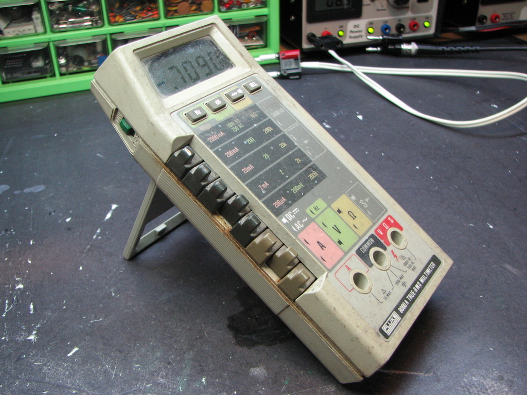 Fluke 8060A Repair | Mr  ModemHead