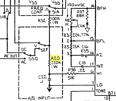 Analog Processor A/D Input