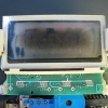 "LCD shows two problems, an aged and sunburned rear polarizer, and signs of ""bleeding"". The latter problem is fatal."