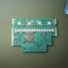 Top side of the microprocessor board.