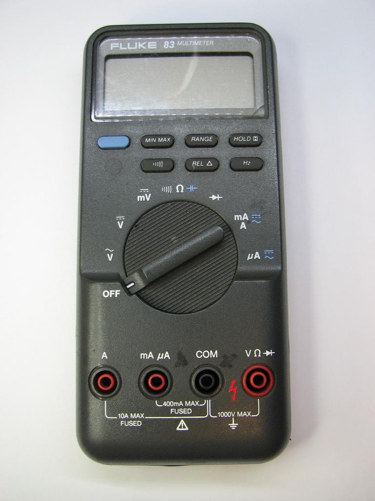 fluke 83 dmm repair mr modemhead rh mrmodemhead com Fluke 115 Manual PDF Fluke Multimeter Amazon