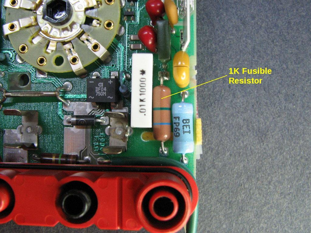 fluke 87 fusible resistor mr modemhead rh mrmodemhead com Fluke Digital Multimeter Manuals Fluke 189 Multimeter