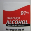 Use the purest isopropyl alcohol you can find. The 91% variety can be found in most drugstores.