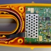 A flexible ribbon connects the fork sensors to the PCB.