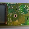 The top (display) side of the PCB.