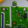 Part of the input protection is a PTC thermistor.