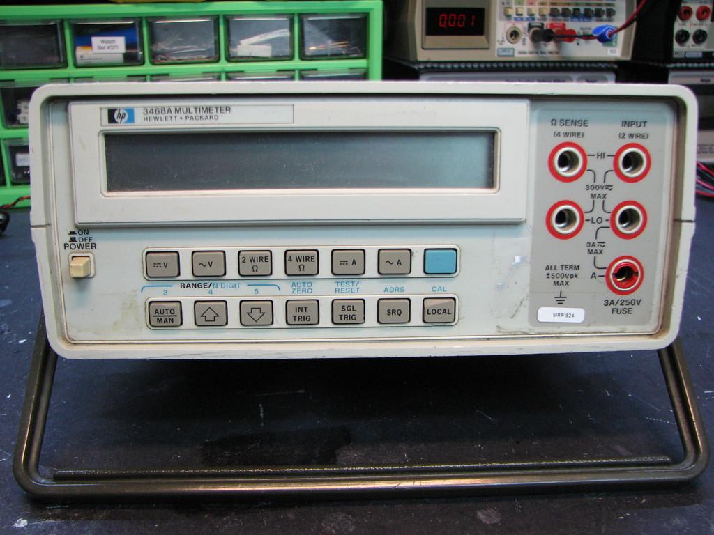 Hp 3468a Bench Multimeter Repair Mr Modemhead