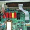 Front end of the meter. A ribbon cable connects to the alpha-numeric LCD unit which has self-contained COB drivers.