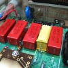 Coto brand small signal relays for input switching.