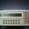 Due to very high input impedance, a charge will develop on the input and cause a constantly-changing non-zero reading.