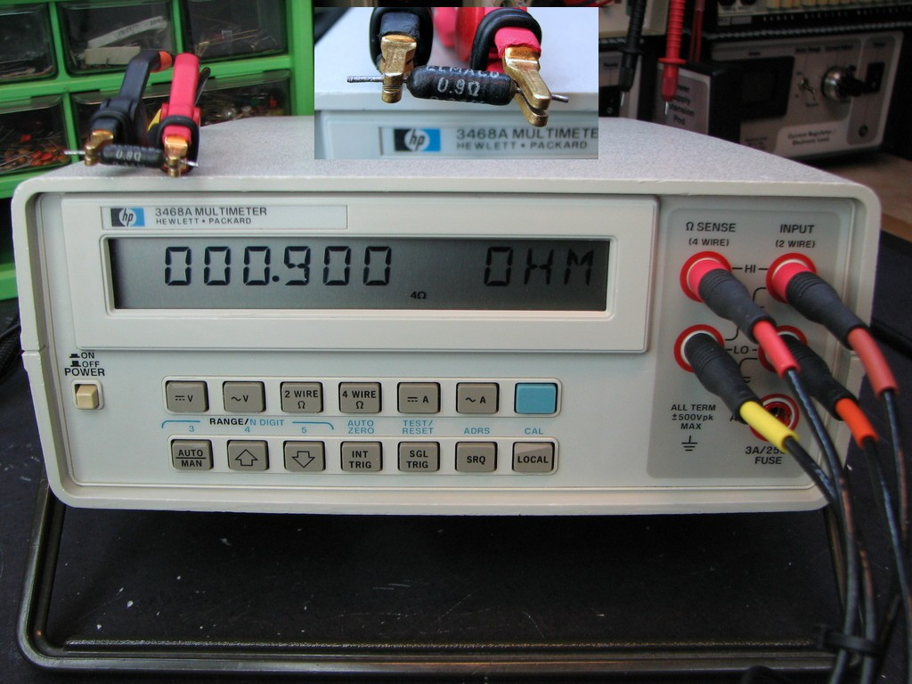 4-wire Resistance Measurement