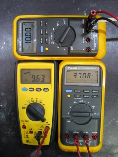 Faulty unit draws 3708uA from 10V source before repair