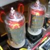 The Nixie tubes are Amperex ZM1000s, made in Holland.