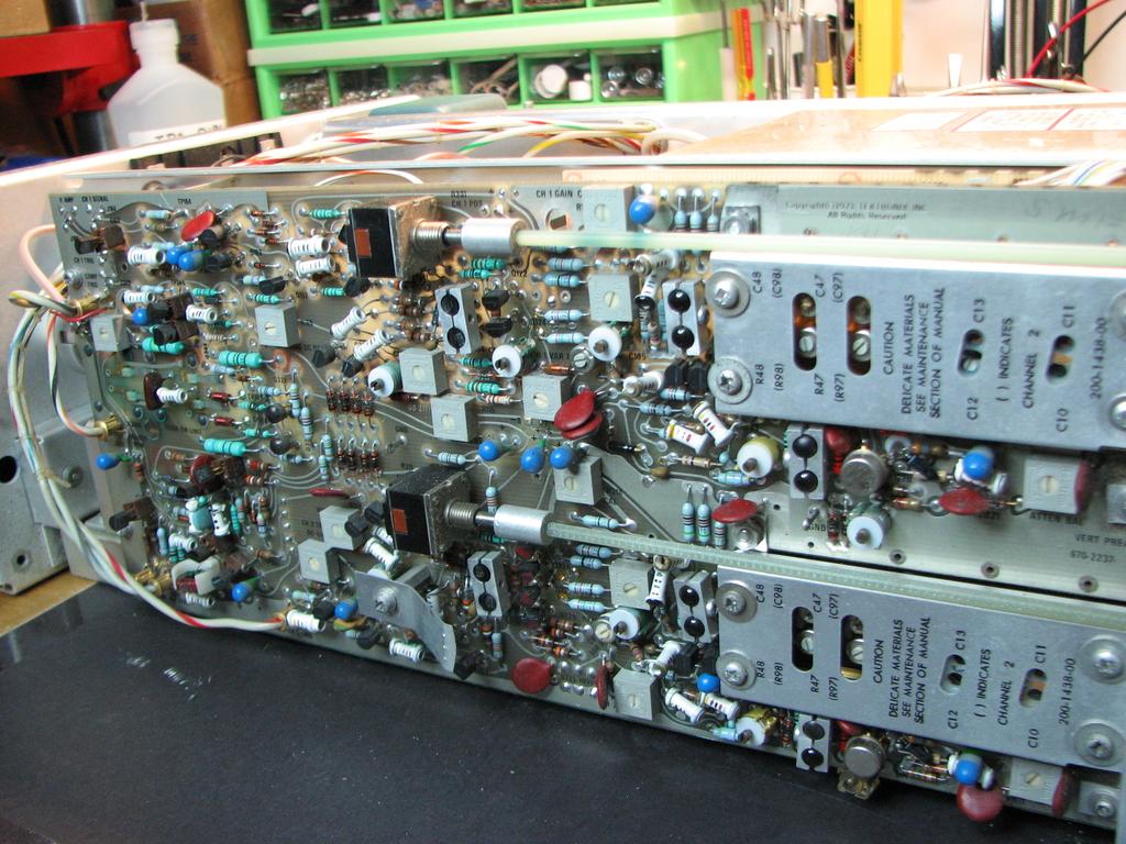 tektronix 465 repair and restoration page 1 rh eevblog com DM44 Multimeter Tektronix Oregon Address
