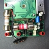 Two HRC (high rupture capacity) fuses protect the amp and milli/micro-amp jacks from over-current.
