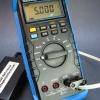 5.000VDC calibration check.